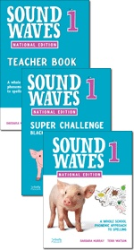 Essential item #7- Book lists. Sound waves spelling books!