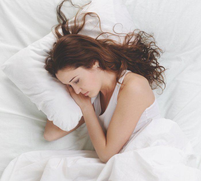 Sleeping sideways