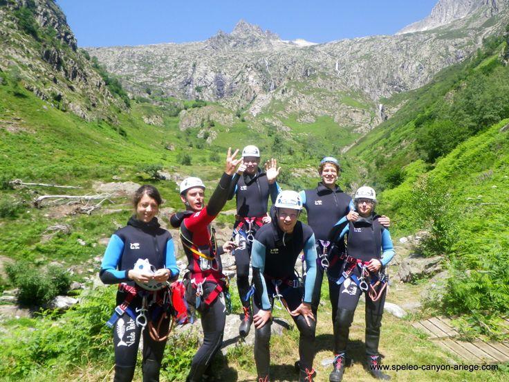 Au départ du canyon de l'Artigue (Ariège -FR)
