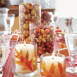 Fall decorating ideas.
