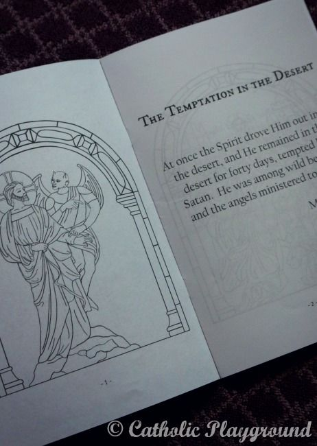 This Ten Page Book Features Coloring Pages For The Relevant Events In Lent Like Temptation Palm SundayLast SupperColoring