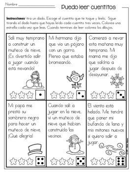 Cuentitos de invierno para mejorar la fluidez ¡En español ...