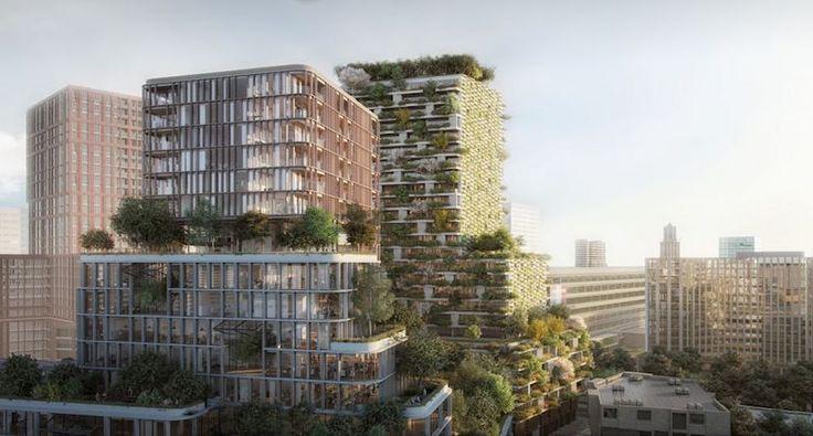 De steden van de toekomst zouden wel eens vol verticale bossen kunnen staan!
