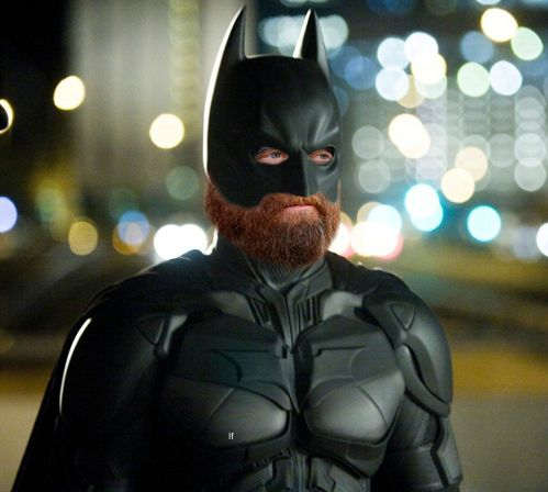 If Zach Galifianakis played Batman.