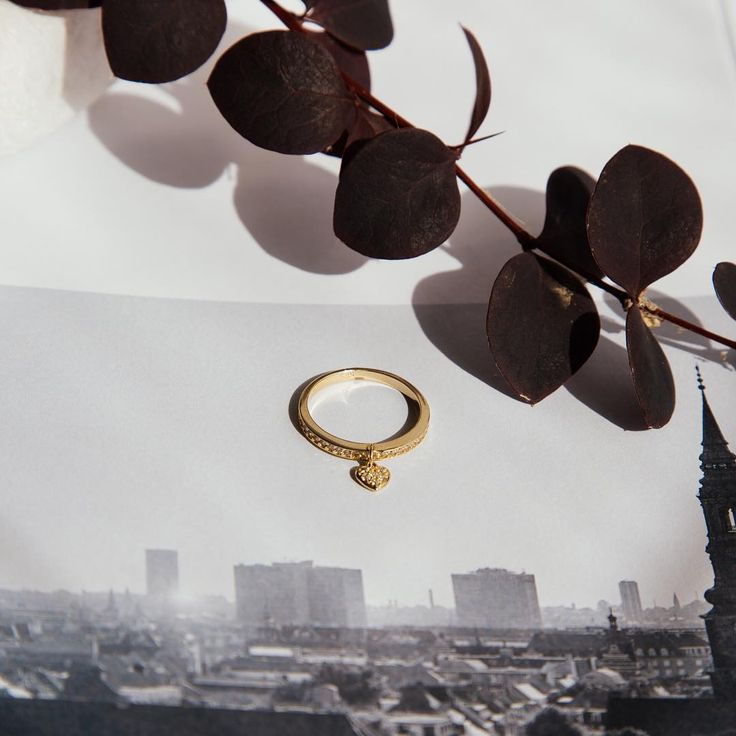 Make a promise of love that lasts...This beautiful 14K gold charm ring with zirconia, looks great on its own or worn as a layering piece. . . . . # #sotirispetalasjewels #sotirispetalas #gold #goldring #womensjewellery #womensjewelry #statementring #look #love #alexandroupoli #alexandroupolis #ringlayering #look