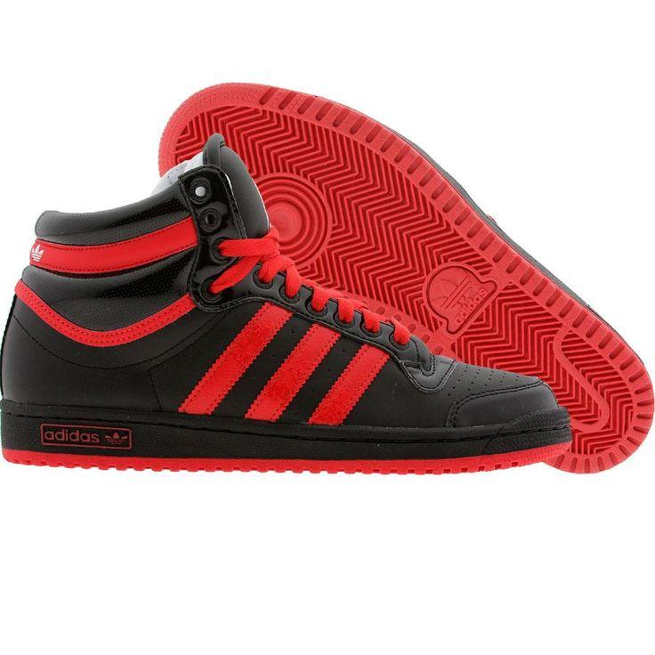 Adidas Top Ten High (black / college red / runninwhite) G17745 - $74.99