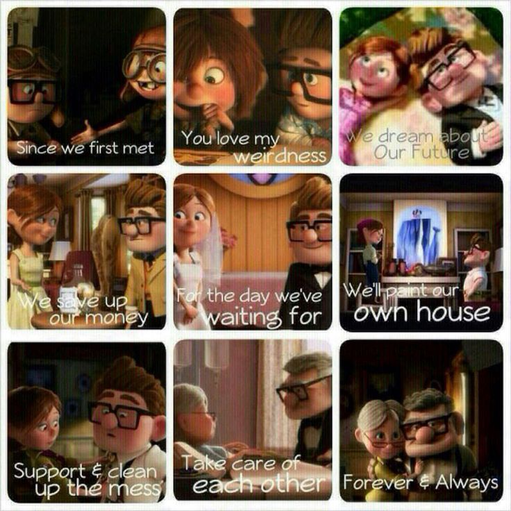 Love based on UP movie