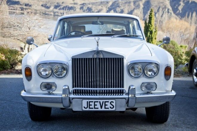 Rolls Royce In Queenstown New Zealand Classic Car Journeys