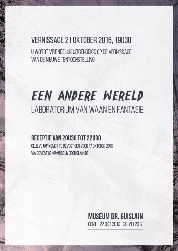ONTWERP | uitnodiging