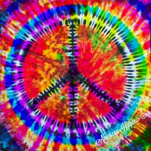 ☮ American Hippie Art ☮ Peace Sign  [Image: Pinterest]
