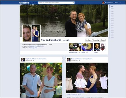 Facebook Just Made The Best Couples Scrapbook
