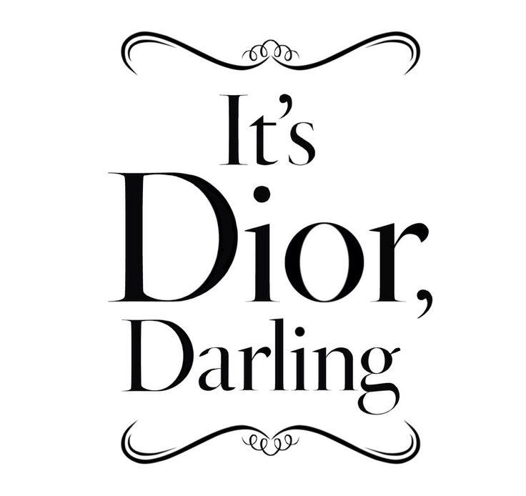"""""""It's DIOR Darling"""", pinned by Ton van der Veer"""