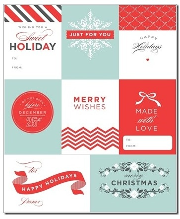 103 best printable gift tags images on pinterest free printables free download 50 free gift tag printables negle Choice Image