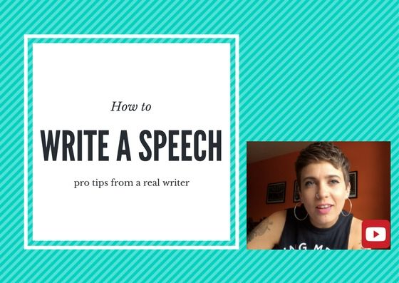 Speech writing tips to help you capture attention and keep it.