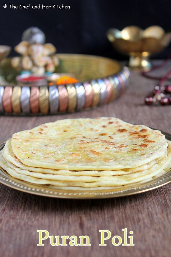 THE CHEF and HER KITCHEN: Puran Poli Recipe | Bobbatlu | Ganesh Chaturthi Recipes