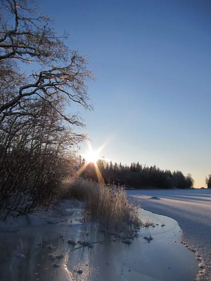 Winter afternoon in Närpes. Photo: Petra Teir