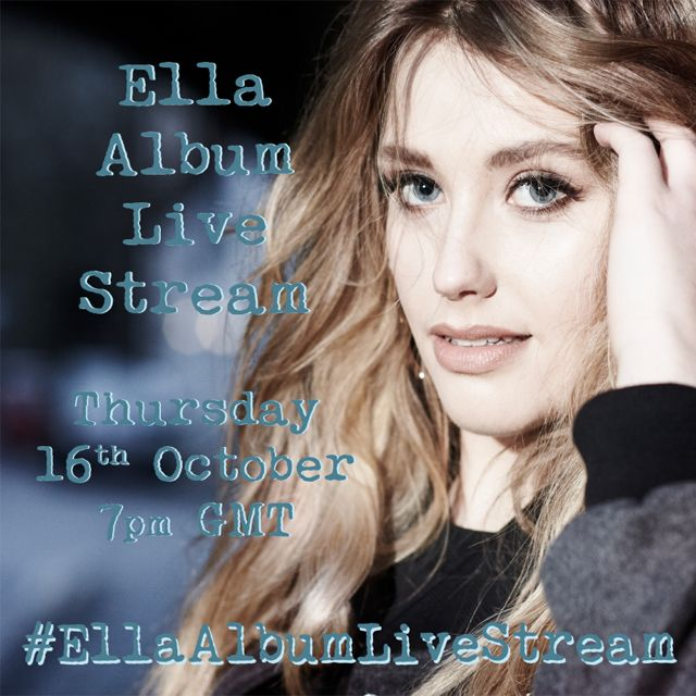 Ella Henderson Album Live Stream on Livestream
