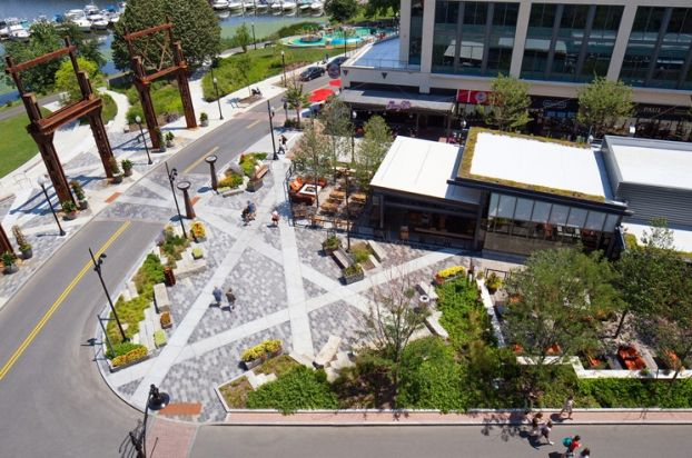 Assembly Row | Somerville | United States | Landscape 2015 | WAN Awards