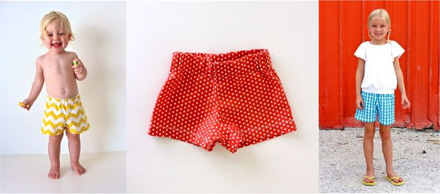 Sewing KID Shorts: The BASIC Shorts | MADE