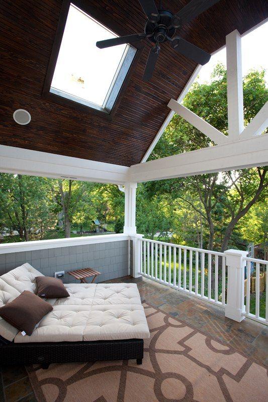 Master bedroom porch