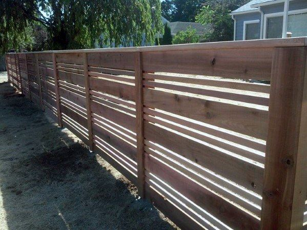 Top 70 Best Wooden Fence Ideas Exterior Backyard Designs