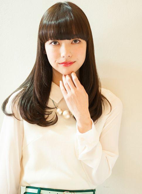 艶感のあるシックなセミロング 【KURASHIGE】 http://beautynavi.woman.excite.co.jp/salon/19267…