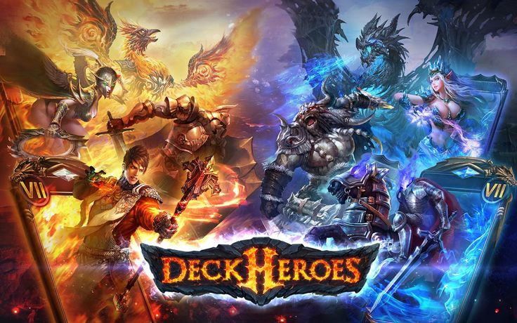Deck Heroes is a substitute fantasy card battling game. Build decks with a wild bunch of Heroes and Creatures. #deckheroes #card #free #mobile #game #review #iOS #Android