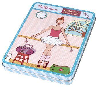 Amazon.com: Mudpuppy Ballerinas Magnetic Figures: Toys & Games