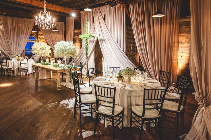 Planner: Angela Proffitt Venue: Houston Station, Nashville, TN Photo: Joe Hendricks Photography
