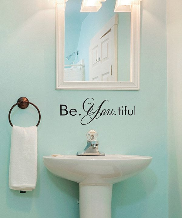 Take A Look At This Be You Tiful Wall Quote On Zulily