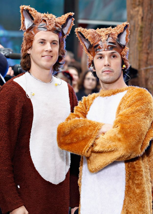 "Norwegian duo Ylvis have signed a deal to turn their viral hit ""What Does The Fox Say?"" into a children's book. 