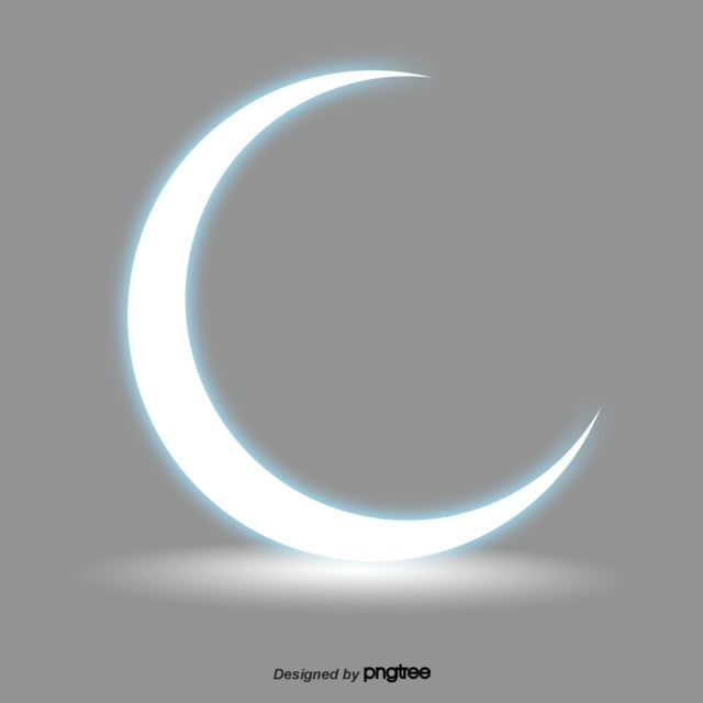 White Shining Crescent Element Cartoon Luminescence Png Transparent Clipart Image And Psd File For Free Download Clip Art Black Wallpaper Cartoon Clip Art