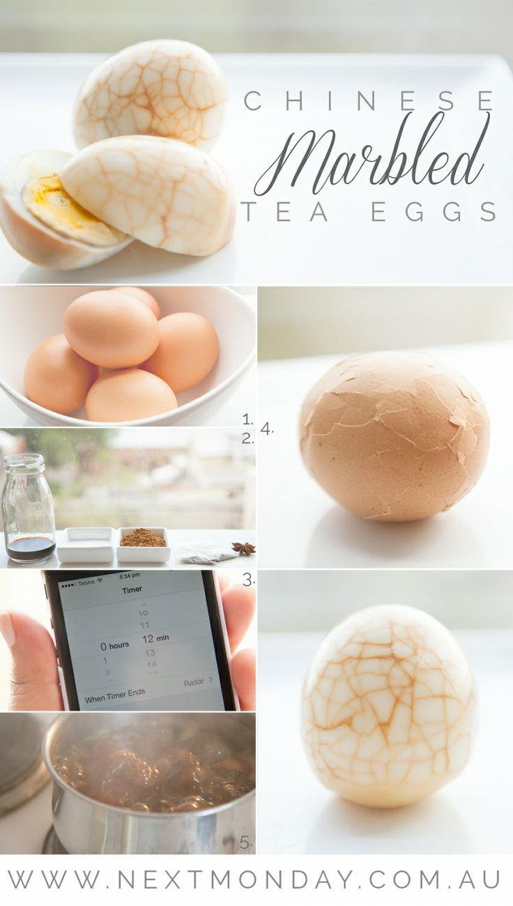 RECIPE: CHINESE MARBLED TEA EGGS » Next Monday
