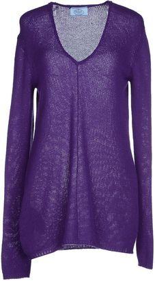PRADA Sweaters - Shop for women's Sweater - Purple Sweater