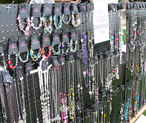 Paparazzi Jewelry Display showing off all the wonderful Paparazzi Jewelry Selections!