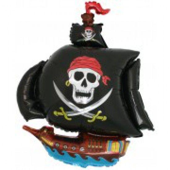Folien-Shape Piratenschiff, ca. 100 cm