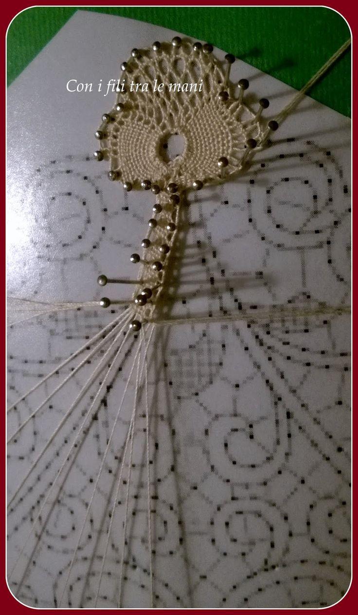 """Tombolo """"Venezia""""; lace"""