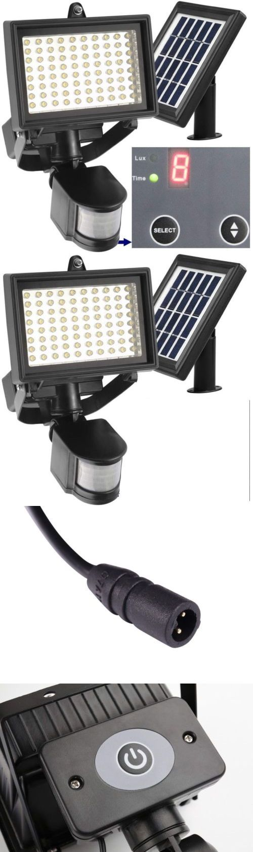 farm and garden: Outdoor Solar Flood Light Led Security Lamp Motion Sensor Waterproof Garden Path BUY IT NOW ONLY: $55.99