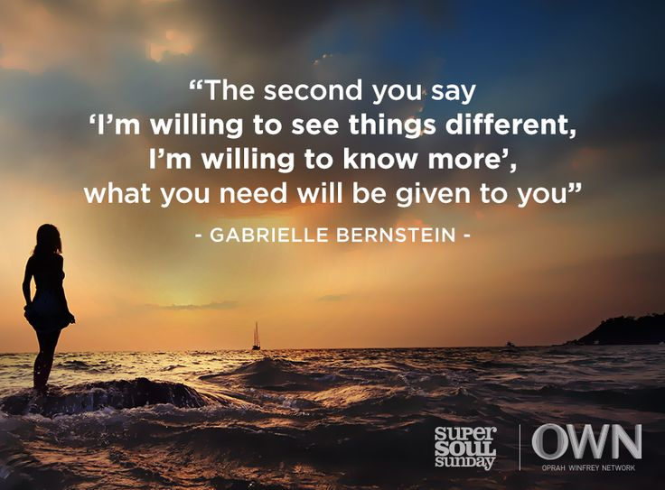 Life-illuminating advice from Gabrielle Bernstein