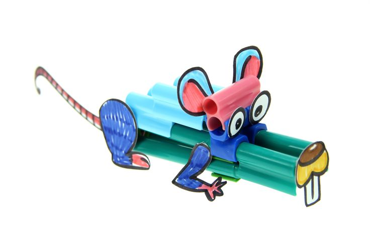 Mouse craft with connector pen