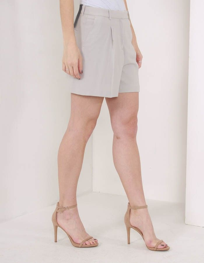 J.Lindeberg Willow Shorts Light Grey | Accent Clothing