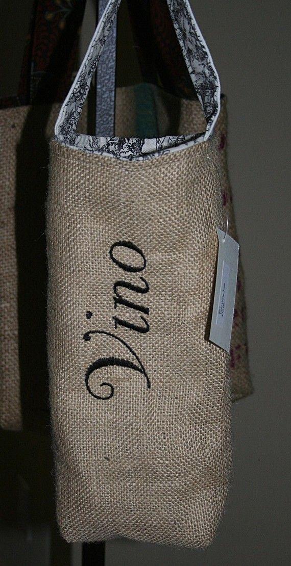 128 best images about burlap decor on pinterest for Decorative burlap bags