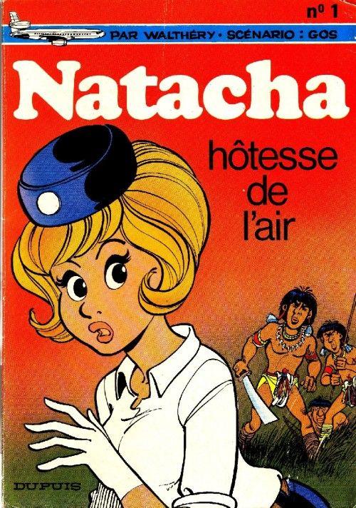 Natacha -1- Hôtesse de l'air