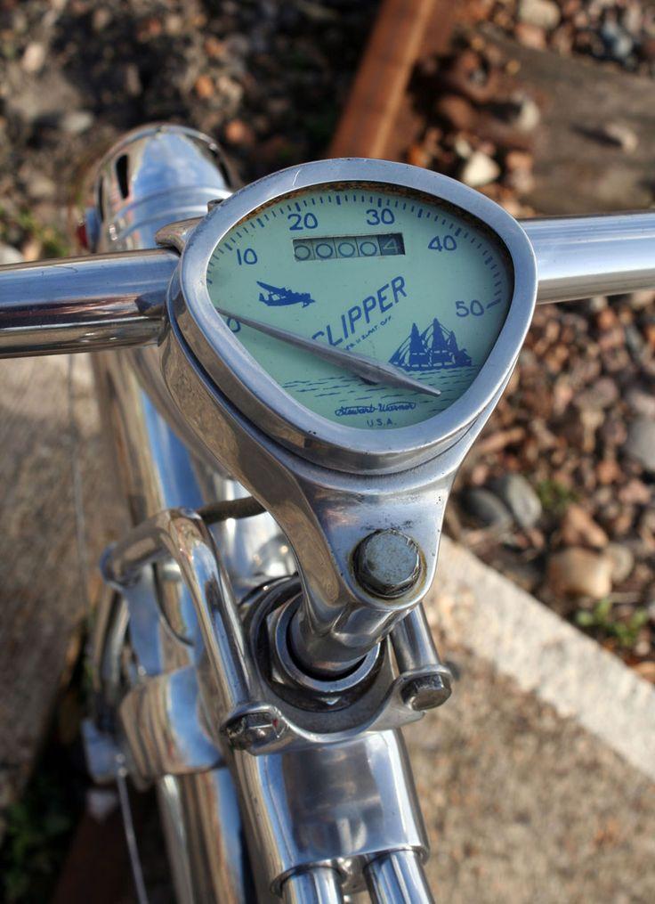 1936 Monarch flow cycle speedo