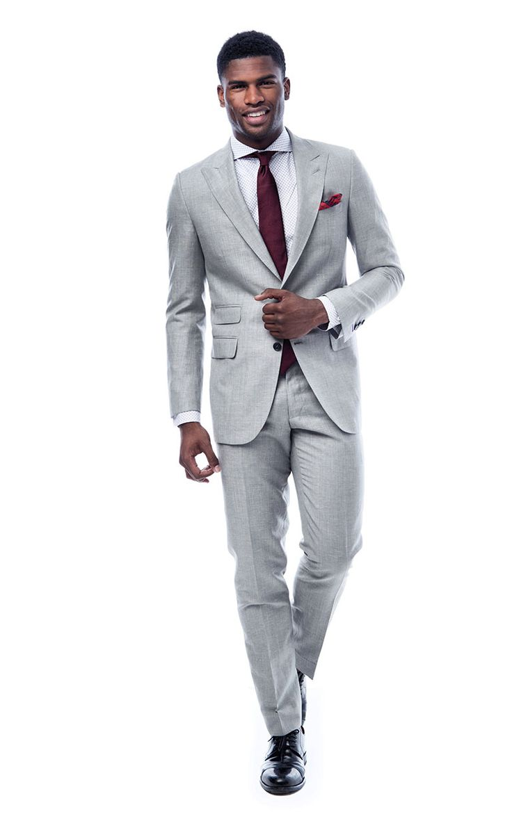 Kerry Knoll Light Grey Suit by Knot Standard