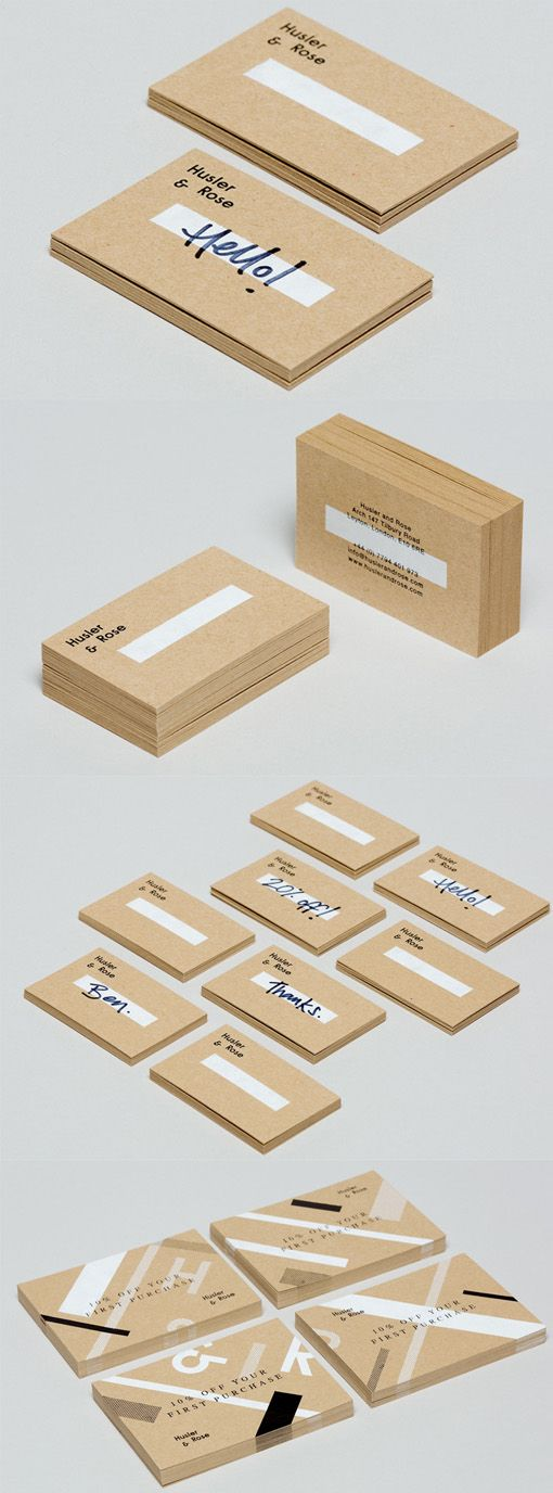 ✖ Versatile And Cost Effective Customisable Business Card Design For A Pop Up Store