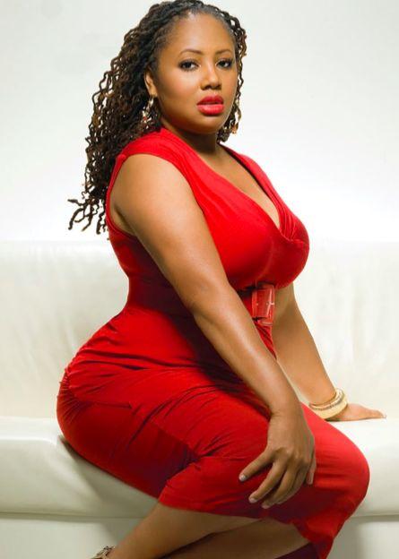 Plus Size Black Women I love red on pinterest  tom