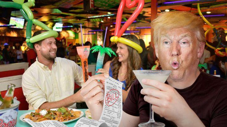 Donald Trump Demands Mexico Pay For America's Cinco de Mayo Happy Hour