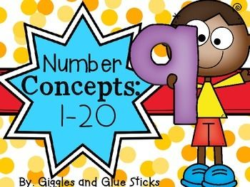 Completely updated June 2015!! This 72 page packet includes:My Little Number Book (1-20) - each book contains an trace the number, trace the number word, show it in ten frame, show it in picture, follow a number maze, and rainbow write. Number Webs (1-20)-a cut and paste activity that shows tally marks, dice, picture, ten frame, and number word.