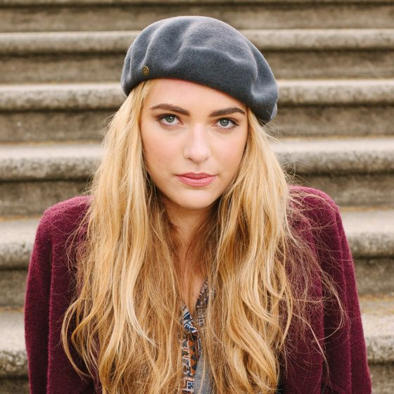 3de87e4060619 Barushka is our classic beret with a ladies Goorin pin. Made of 100% wool  felt